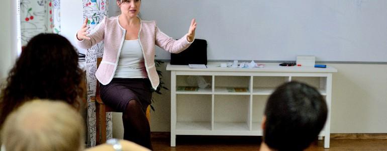 Открытое занятие по ораторскому мастерству